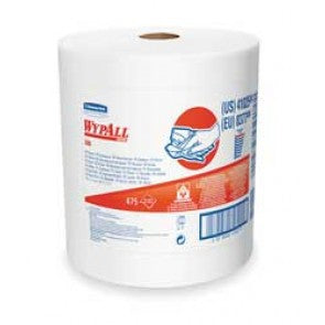 Disposable Wiper Roll,White,530 Ft