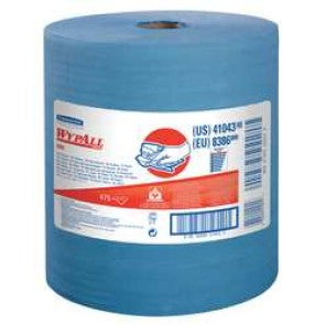 Disposable Wiper Roll,Blue,530 Ft