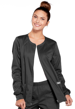 4315 WW Core Stretch Zip Front Warm-Up Jacket