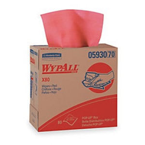 Disposable Wiper,Red,PK 400
