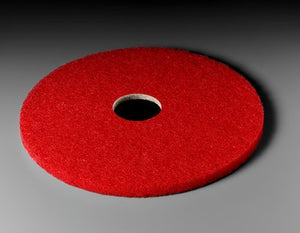 3M Red Buffer Pad 5100, 13 in, 5/case