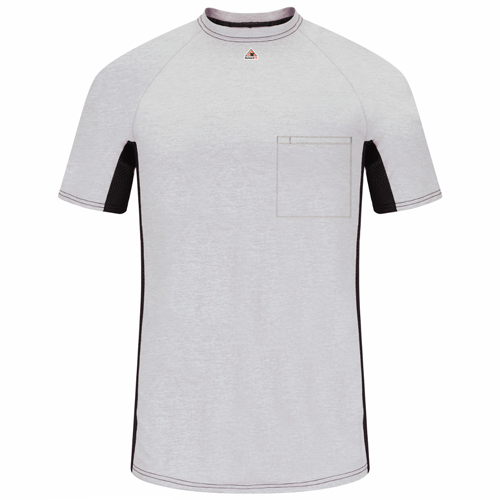 Bulwark TWO-TONE BASELAYER W/MESH GUSSET MPS4