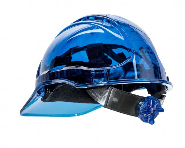 Portwest PV60 Peakview Translucent Vented Ratchet Hard Hat