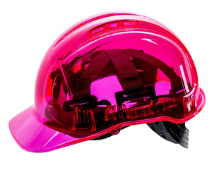 PV50 Peakview Translucent Vented Ratchet Hard Hat