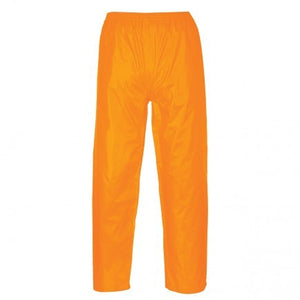 Portwest US411 Rain Pants Unlined