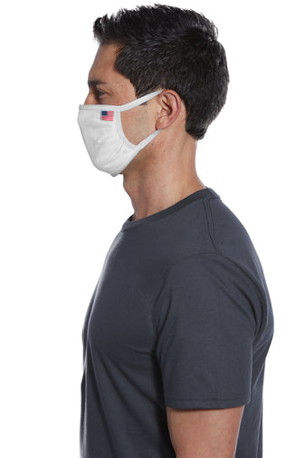 All-American Cotton Knit Face Mask