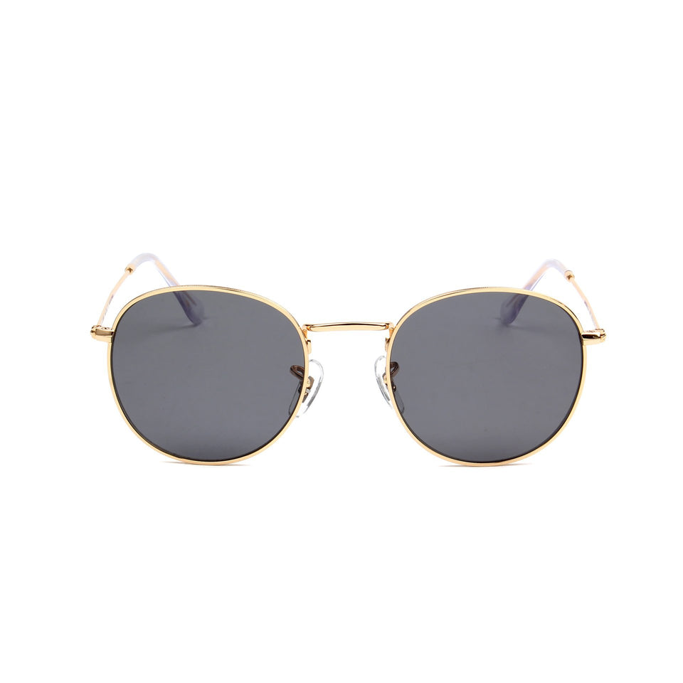 Monte Carlo Gold - Front View - Grey lens - Mawu sunglasses