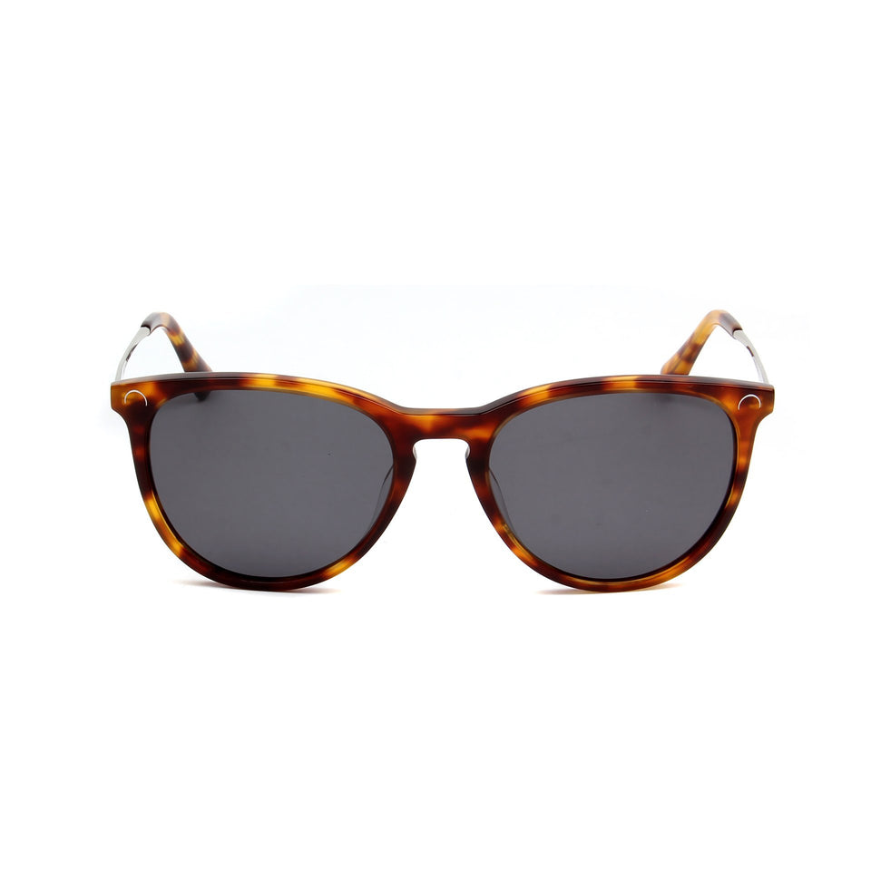 Ovea Tortoise - Front View - Dark Grey lens - Mawu sunglasses