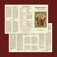 Load image into Gallery viewer, Latin-English Rosary Pamphlet