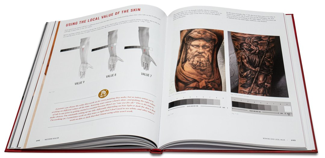 Mastering Realism - Drawing Techniques For The Modern Tattoo Artist- 16 Books