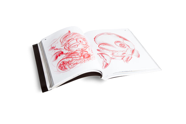 Sketched Out: An Assortment of Sketches by 100 of Your Favorite Artists