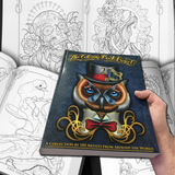 The Coloring Book Project, 2nd Edition: A Collection by 185 Artists From Around The World