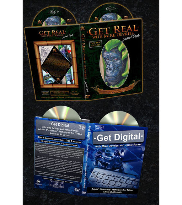 Mike DeVries' Get Real and Get Digital DVD Bundle Pack