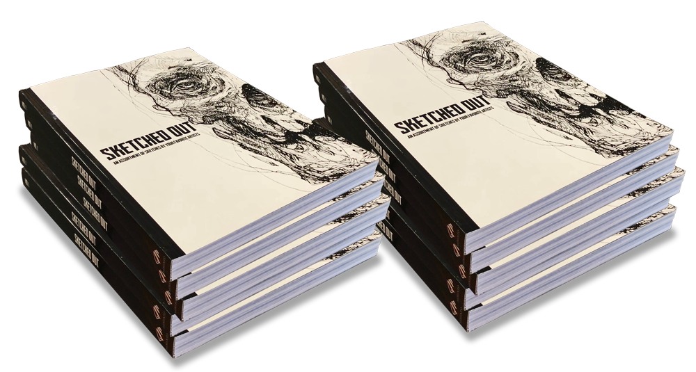 Sketched Out Artist Sketch Collection Memento Publishing