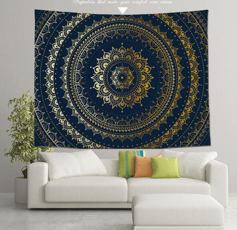 Tapestry Wall Hanging Decor Art Home Decoration Bedroom Living Room Dorm Wall Hangings Tapestries Beach Throw Table Runner Cloth 59X51Inch/150X130CM - Raylinedo