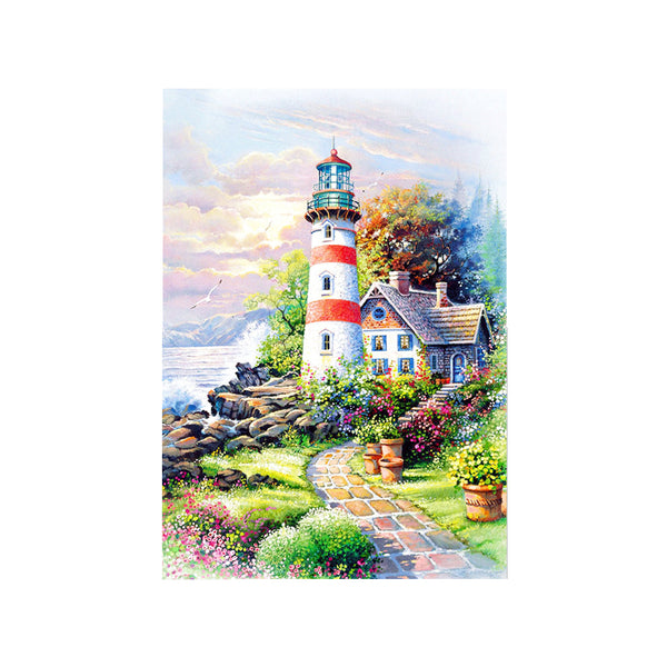 DIY 5D Diamond Painting, Tower, Diamond Embroidery Pictures Arts Craft For Home Wall Decoration - Raylinedo