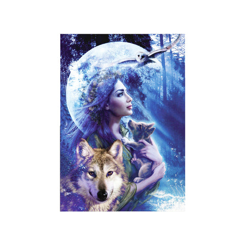 DIY 5D Diamond Painting, Wolf, Diamond Embroidery Pictures Arts Craft For Home Wall Decoration - Raylinedo