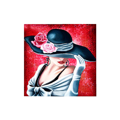 DIY 5D Diamond Painting, Belle, Diamond Embroidery Pictures Arts Craft For Home Wall Decoration - Raylinedo
