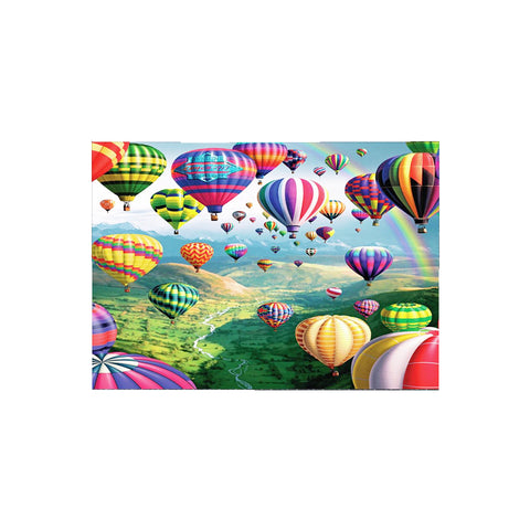 DIY 5D Diamond Painting, Hot Air Balloon, Diamond Embroidery Pictures Arts Craft For Home Wall Decoration - Raylinedo