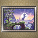 DIY 5D Diamond Painting, Unicorn, Diamond Embroidery Pictures Arts Craft For Home Wall Decoration - Raylinedo