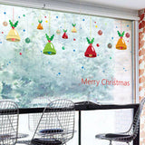 Merry Christmas Fashion Designed Removed Vinyl Wall Sticker Happy New Year Wall Sticker House Decoration Wall Decoration 5 - Raylinedo