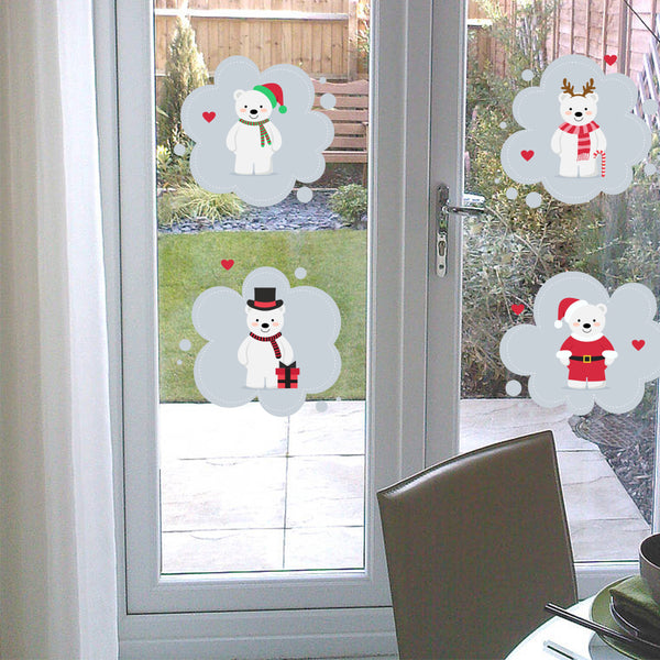 Merry Christmas Fashion Designed Removed Vinyl Wall Sticker Happy New Year Wall Sticker House Decoration Wall Decoration 12 - Raylinedo