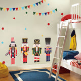 Festival Flags Fashion Designed Removed Vinyl Wall Sticker Rank-And-File Soldiers Wall Sticker House Decoration Wall Decoration - Raylinedo