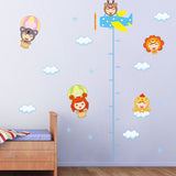 Cartoon Dolls Removable Wall Stickers Window Sticker Art Decals Mural DIY Wallpaper for Room Decal - Raylinedo