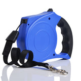 5M Automatic Retractable/Extendable Lightweight Pet Dog Leash Nylon Durable Lead - Raylinedo