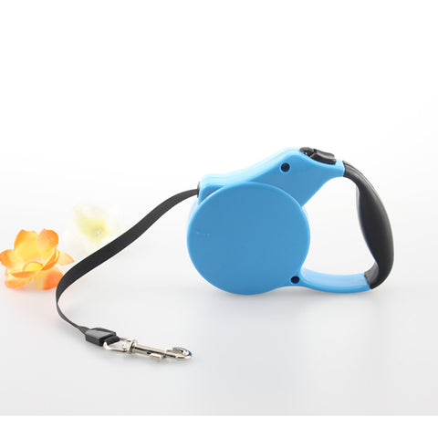 Retractable Belt Pet Leash Durable Dog Cat Lead Extend to 3M/5M Convenient Design