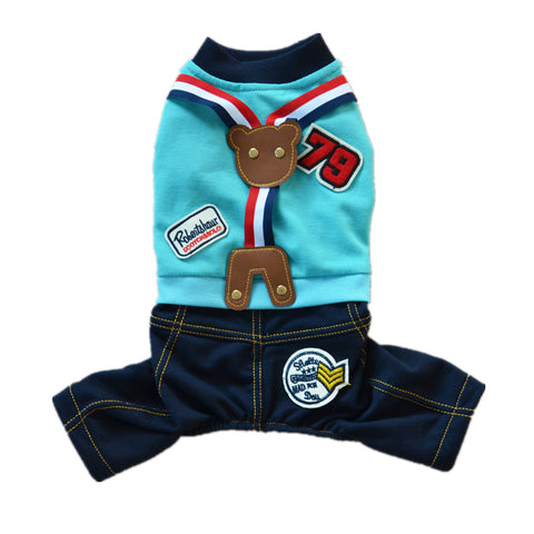 Little Pet Dog Hoodie T Shirt Puppy Cat Clothes Jacket Coat Costume Apparel - Raylinedo