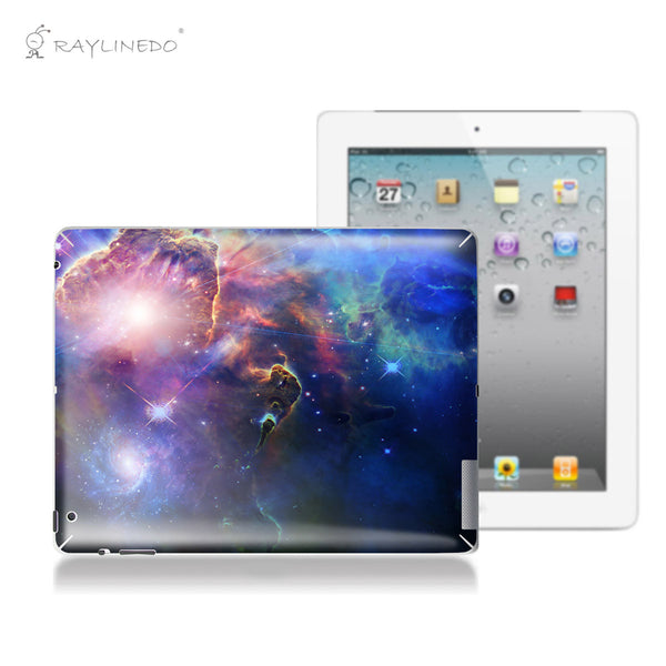 Magic Universe Decal 3M Back Sticker Skin Protector for iPad - Raylinedo