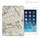Amazing Europa Map Decal 3M Full Body Sticker Skin Protector for iPad - Raylinedo
