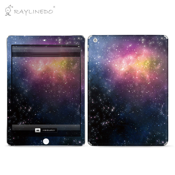Charming Universe Decal 3M Full Body Sticker Skin Protector for iPad - Raylinedo