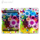 Dream Garden Decal 3M Back Sticker Skin Protector for iPad - Raylinedo