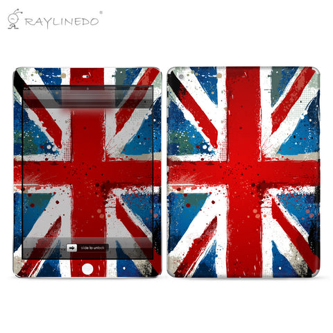 Distinctive Flag Decal 3M Full Body Sticker Skin Protector for iPad - Raylinedo