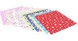 144 Sheets Craft Folding Origami Paper Washi Folding Paper 15CM*15CM with Different Colors and Patterns B - Raylinedo