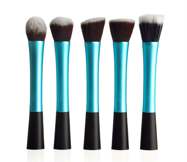 5PCS High Quality Stylish Professional Synthetic Makeup Tools Cosmetic Brushes - Raylinedo