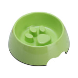 Melamine Anti-Gulping Non Skid Dog Puppy Cat Pet Bowl Pet Feeding Watering Supplies - Raylinedo