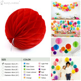 3 Pieces Package Flower Ball For Wedding Birthday Anniversary Party Christmas Girls Room Decoration - Raylinedo