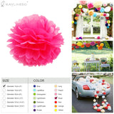 3 Pieces Pack Flower Ball For Wedding Birthday Anniversary Party Christmas Girls Room Decoration - Raylinedo