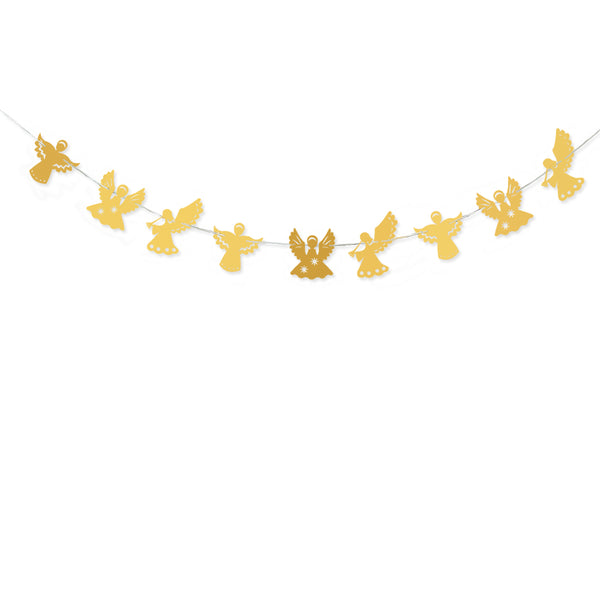 Garland For Wedding Birthday Anniversary Party Christmas Girls Room Decoration Angel Shape - Raylinedo
