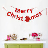 Paper Garland For Wedding Birthday Anniversary Party Christmas Girls Room Decoration Christmas - Raylinedo