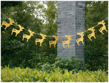Garland For Wedding Birthday Anniversary Party Christmas Girls Room Decoration Deer Shape - Raylinedo