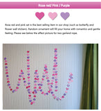 Garland For Wedding Birthday Anniversary Party Christmas Girls Room Decoration Heart Shape - Raylinedo