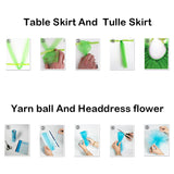 Tulle Roll Spool Tutu Party Birthday Wrapping Crafts Bridal Bow Skirt Wedding Decor