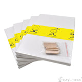 5pcs Artist Blank Canvas Frame 12x16inch ( 30x40cm ) Oil Water Painting Board Cotton Canvas Flat Canvas - Raylinedo