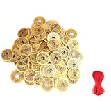 feng shui coin lucky coin ornaments Chinese coin coin