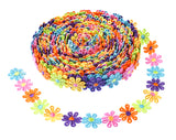 15 Yards DIY Lace Applique Sewing Craft Lace Edge Trim Ribbon Edging Trimmings Fabric Embroidery Polyester For Wedding Dresses Embellishment DIY Party Decor Clothes(0.26KG) - Raylinedo