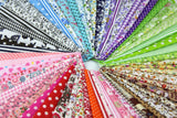 "20Pcs Different Pattern Multi Color Cotton Poplin Fabric Fat Quarter Bundle 18"" x 22"" Quilting Fabric With 15pcs 20*25cm Fabric Patchwork Craft Cotton Mixed Squares Thin Fabric - Raylinedo"
